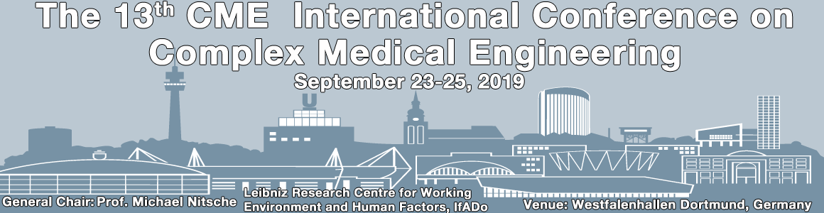 The 13th CME Iternational Conference on Complex Medical Engineering